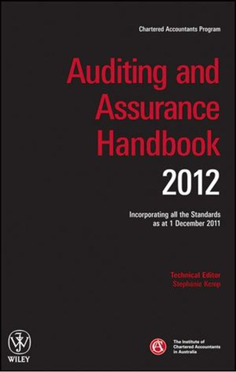 تصویر Auditing and Assurance Handbook 2012: Incorporating all the Standards as at 1 December 2011