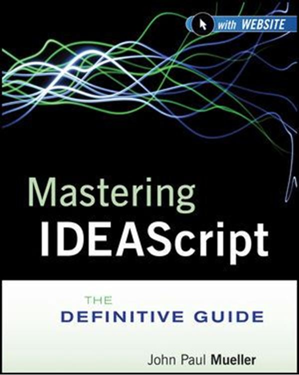 تصویر Mastering IDEAScript: The Definitive Guide, with Website