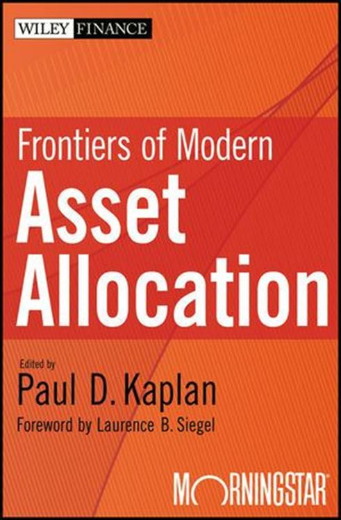 تصویر Frontiers of Modern Asset Allocation