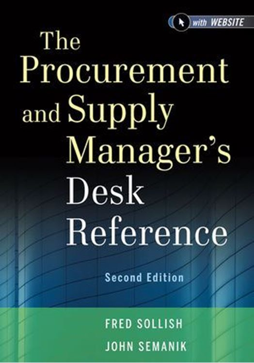 تصویر The Procurement and Supply Manager's Desk Reference, + Website, 2nd Edition
