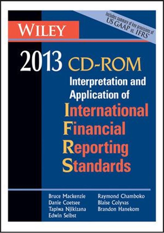 تصویر Wiley IFRS 2013 CD ROM: Interpretation and Application for International Accounting and Financial Reporting Standards