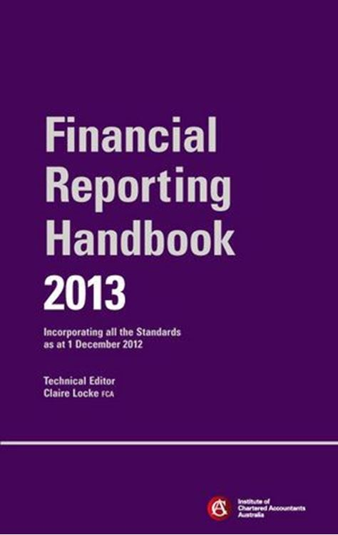 تصویر Financial Reporting Handbook 2013 + E-Text Registration Card