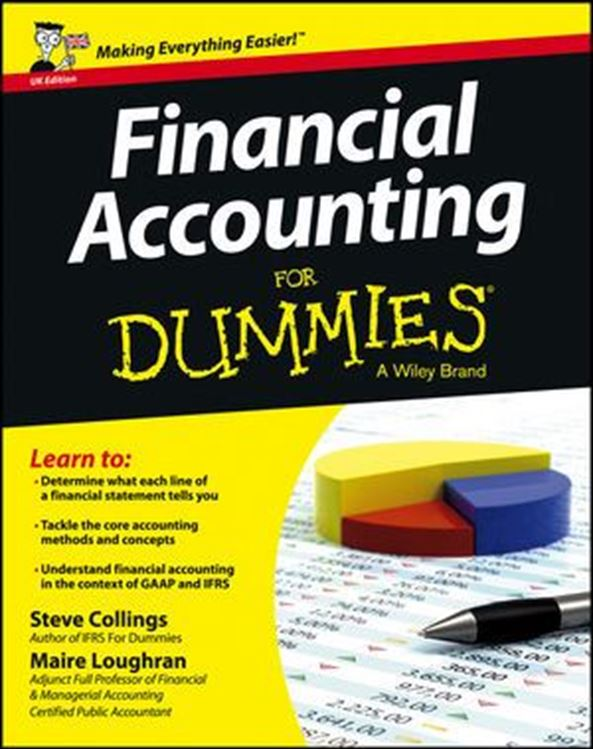 تصویر Financial Accounting For Dummies, UK Edition