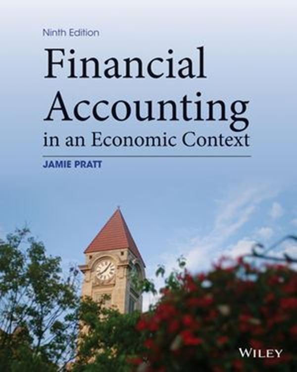 تصویر Financial Accounting in an Economic Context, 9th Edition