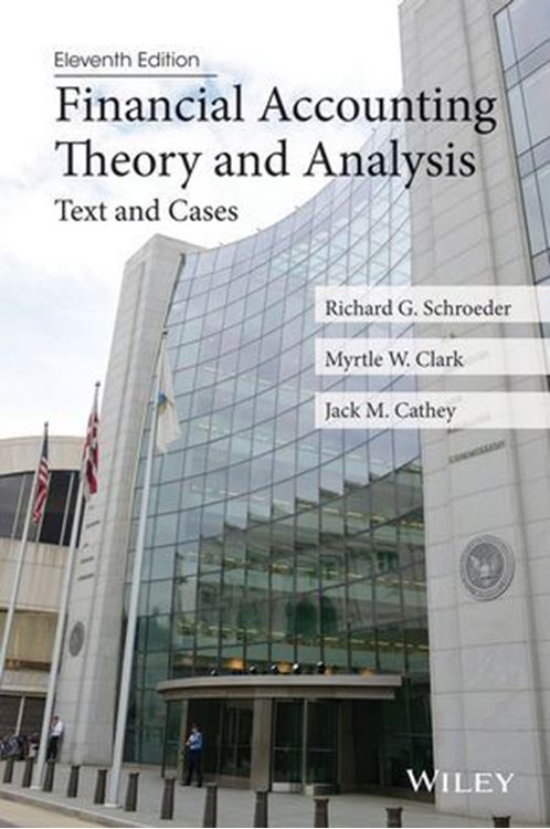 تصویر Financial Accounting Theory and Analysis: Text and Cases, 11th Edition