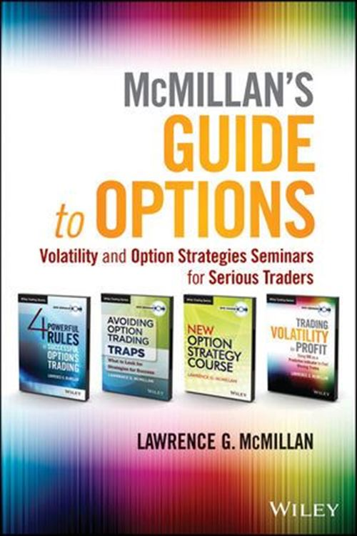 تصویر McMillan's Guide to Options: Volatility and Option Strategies Seminars for Serious Traders