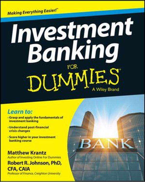 تصویر Investment Banking For Dummies