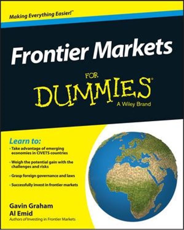 تصویر Frontier Markets For Dummies