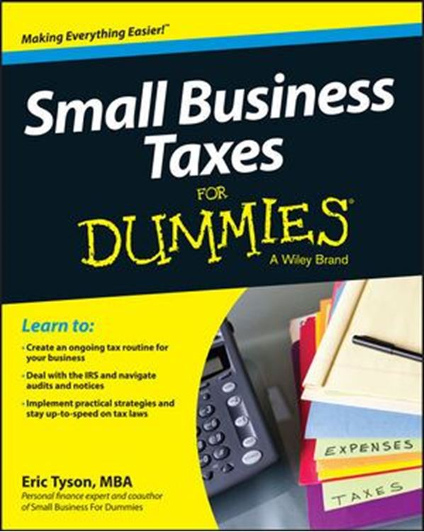 تصویر Small Business Taxes For Dummies