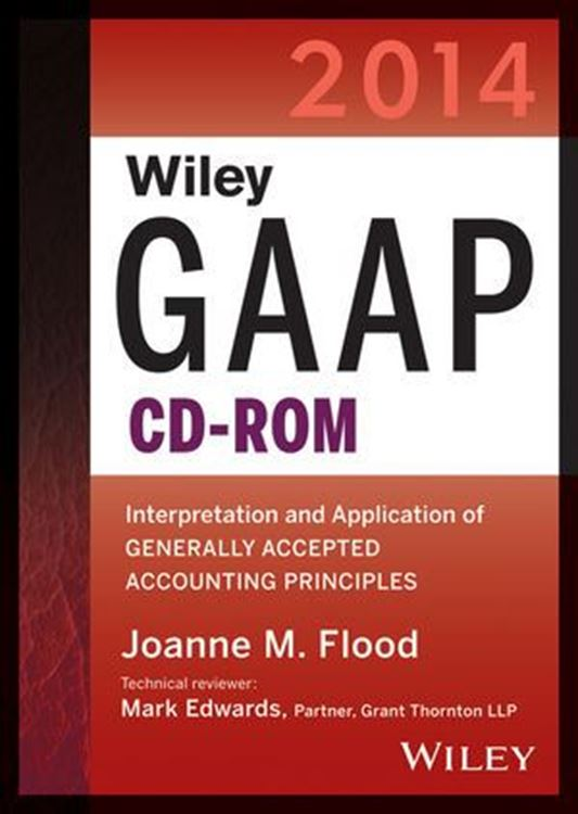تصویر Wiley GAAP 2014: Interpretation and Application of Generally Accepted Accounting Principles (CD-ROM)