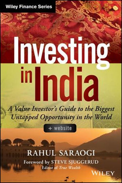 تصویر Investing in India: A Value Investor's Guide to the Biggest Untapped Opportunity in the World, + Website