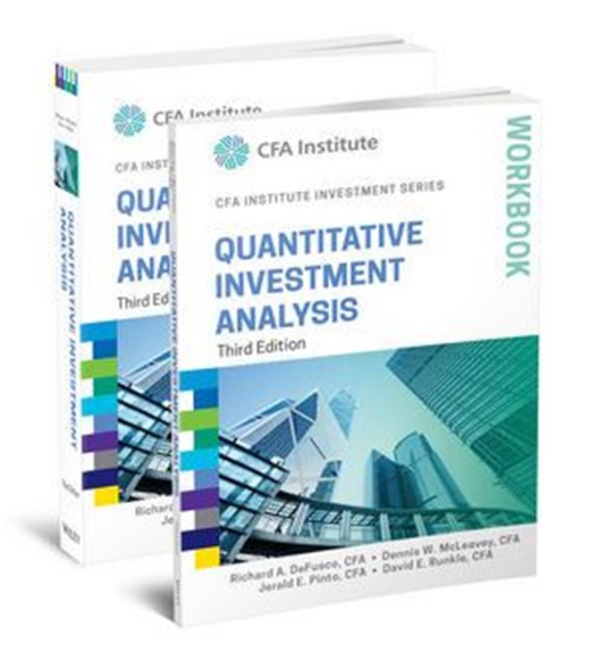 تصویر Quantitative Investment Analysis, Book and Workbook Set, 3rd Edition