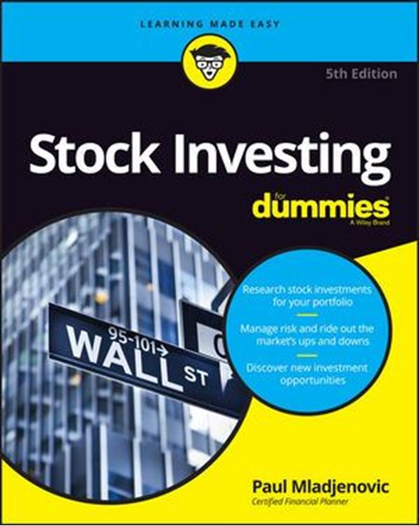 تصویر Stock Investing For Dummies, 5th Edition