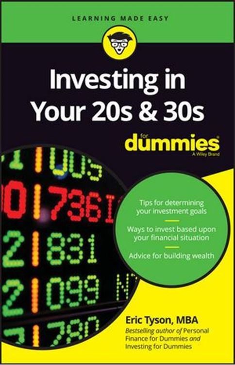 تصویر Investing in Your 20s and 30s For Dummies