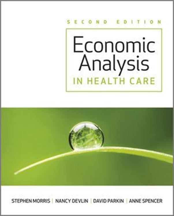 تصویر Economic Analysis in Healthcare, 2nd Edition