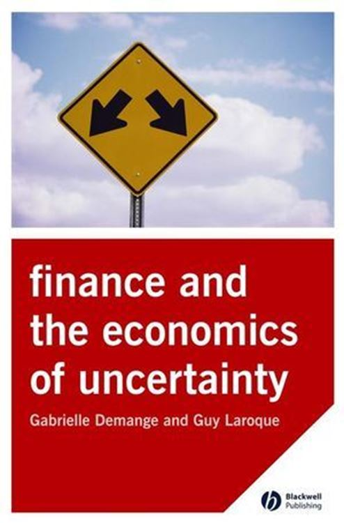 تصویر Finance and the Economics of Uncertainty