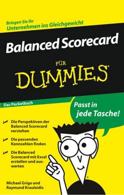 تصویر Balanced Scorecard für Dummies, Das Pocketbuch