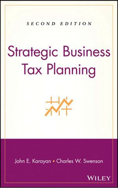 تصویر Strategic Business Tax Planning, 2nd Edition