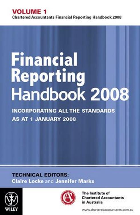 تصویر Financial Reporting Handbook 2008