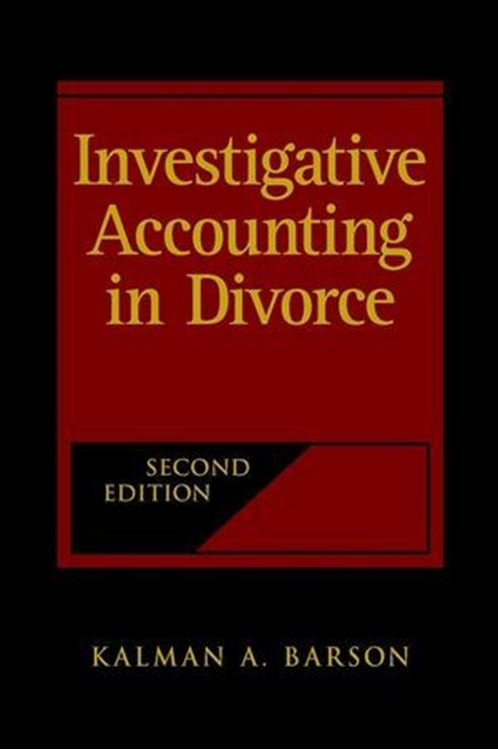 تصویر Investigative Accounting in Divorce, 2nd Edition