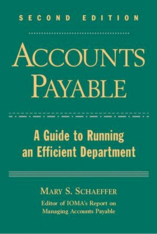 تصویر Accounts Payable: A Guide to Running an Efficient Department, 2nd Edition