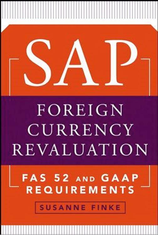 تصویر SAP Foreign Currency Revaluation: FAS 52 and GAAP Requirements
