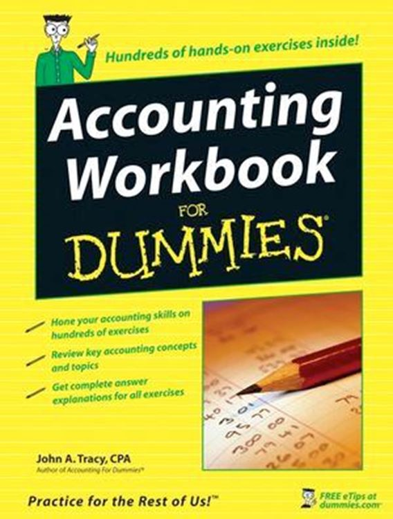 تصویر Accounting Workbook For Dummies