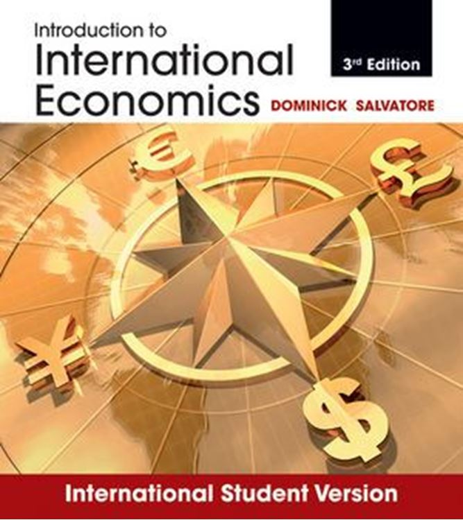 تصویر Introduction to International Economics, 3rd Edition International Student Version