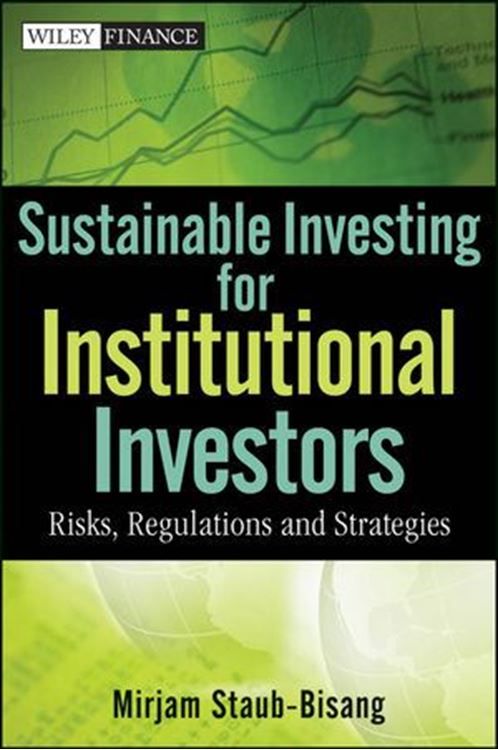 تصویر Sustainable Investing for Institutional Investors: Risk, Regulations and Strategies