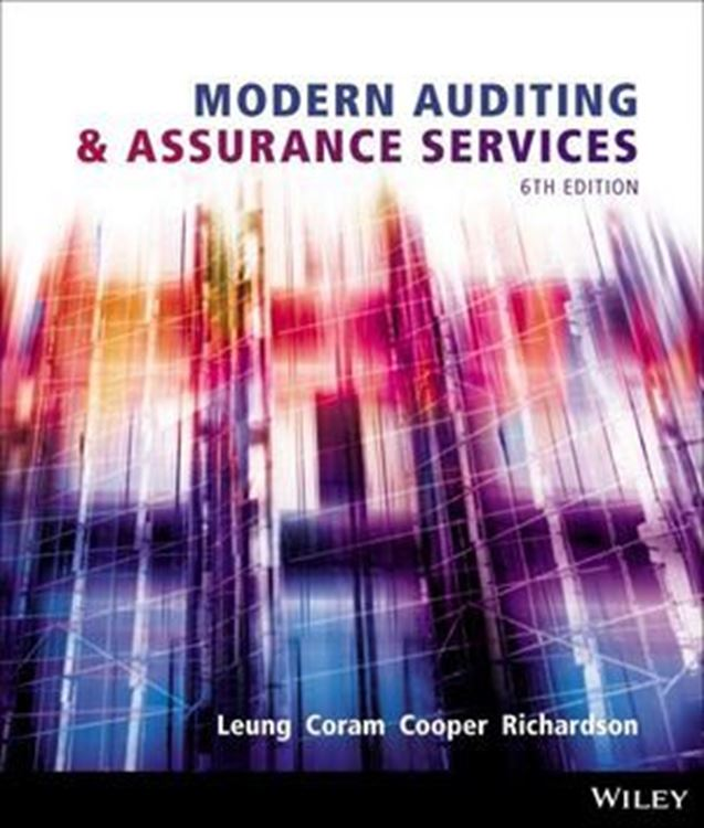 تصویر Modern Auditing and Assurance Services, 6th Edition