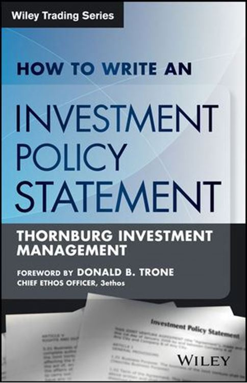 تصویر How to Write an Investment Policy Statement, 2nd Edition