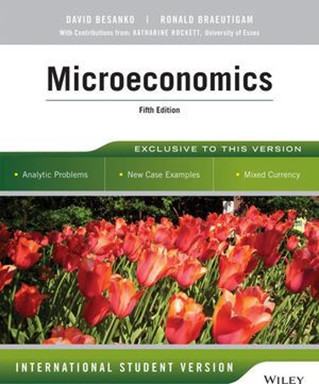 تصویر Microeconomics, 5th Edition International Student Version