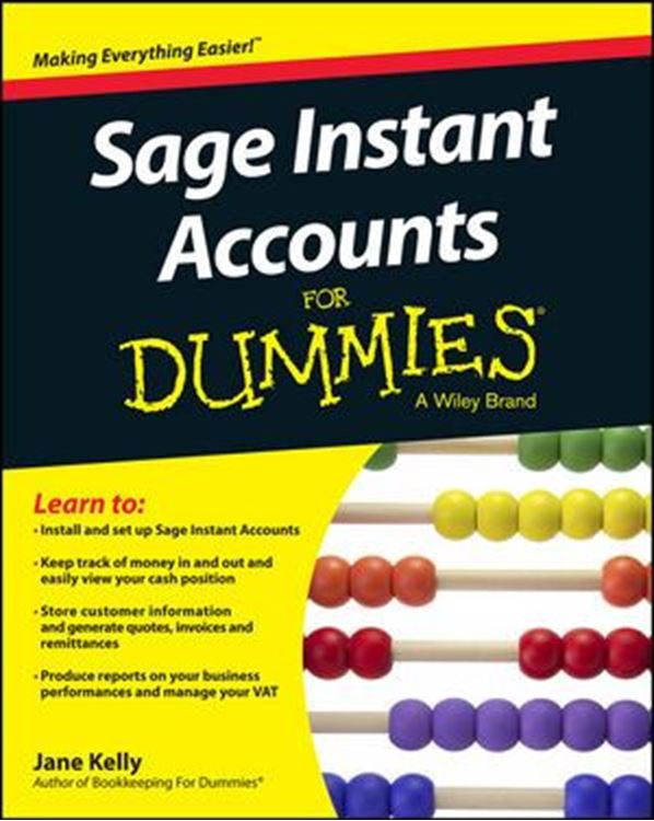 تصویر Sage Instant Accounts For Dummies