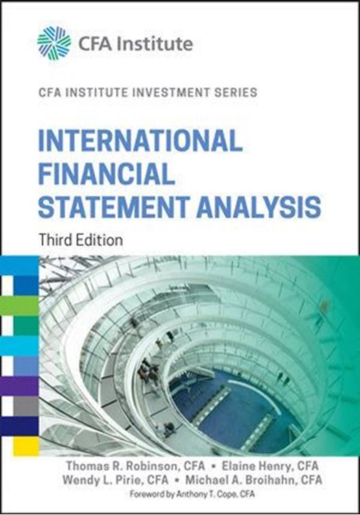 تصویر International Financial Statement Analysis, 3rd Edition