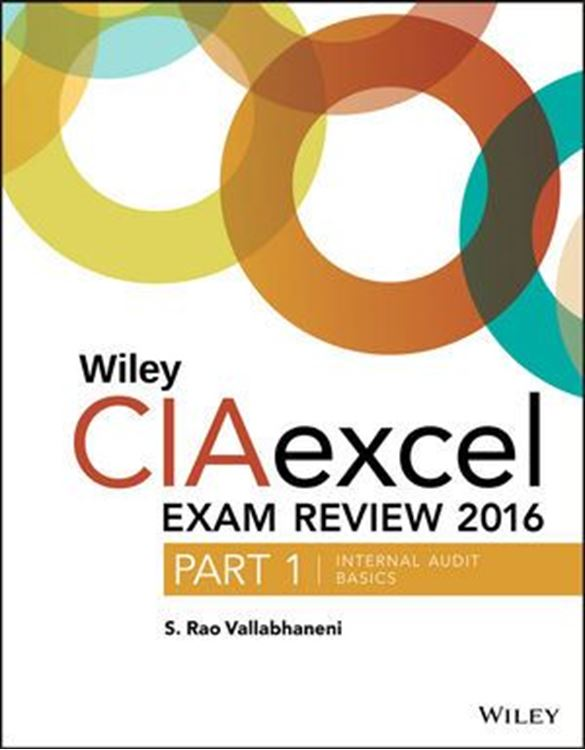 تصویر Wiley CIAexcel Exam Review 2016: Part 1, Internal Audit Basics