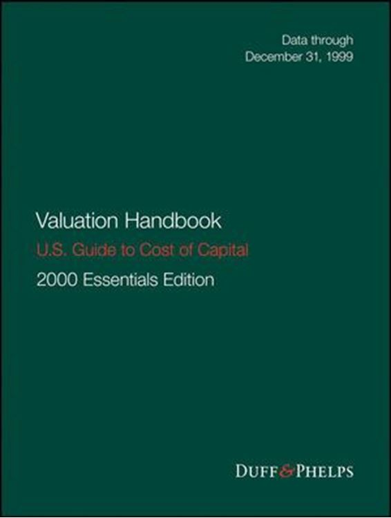 تصویر Valuation Handbook - U.S. Guide to Cost of Capital, 2000 U.S. Essentials Edition