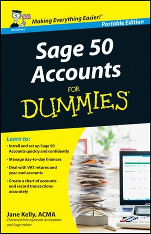 تصویر Sage 50 Accounts For Dummies, WHS Travel Edition